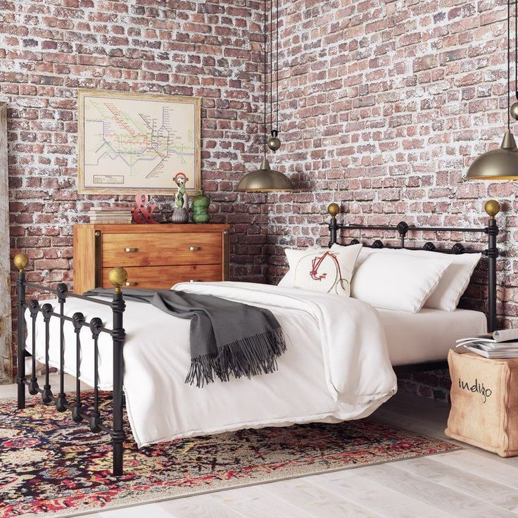best 25 small double beds ideas on pinterest diy double. Black Bedroom Furniture Sets. Home Design Ideas