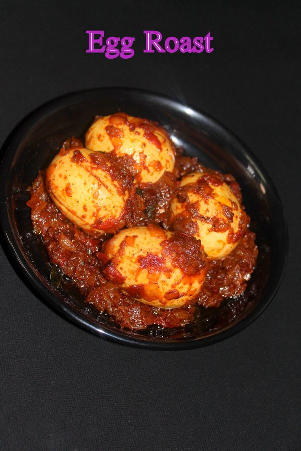 Egg roast is a masala egg recipe in which boiled and peeled eggs are nicely roasted in onion tomato masala gravy. This is a kerala nadan style mutta roast..