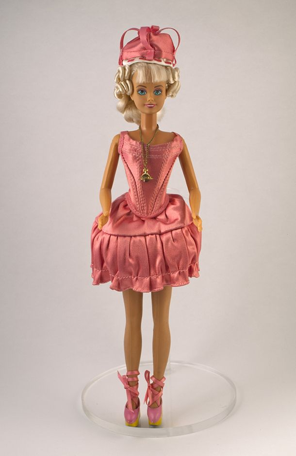 Sindy Doll wearing outfit by Vivienne Westwood, Hasbro, 1991. Museum no. B.22-2014 © Victoria and Albert Museum, London