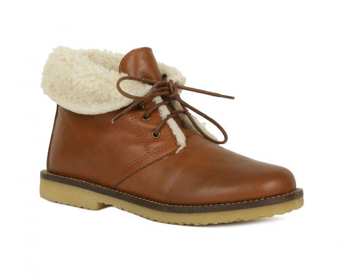 Alessandro Зимние коричневые ботинки от итальянского бренда Alessandro