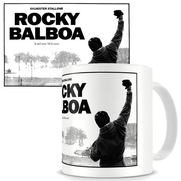 Taza Rocky Balboa. Póster Rocky VI