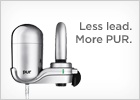 PUR Water Filters - Reduce the lead in your water. Make sure to get the Mineral version to remineralize the water after it's been filtered: we need our trace minerals!