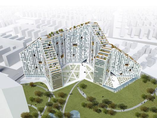 Amanora Apartment City - Future Towers, Maharashtra, India, designed by MVRDV