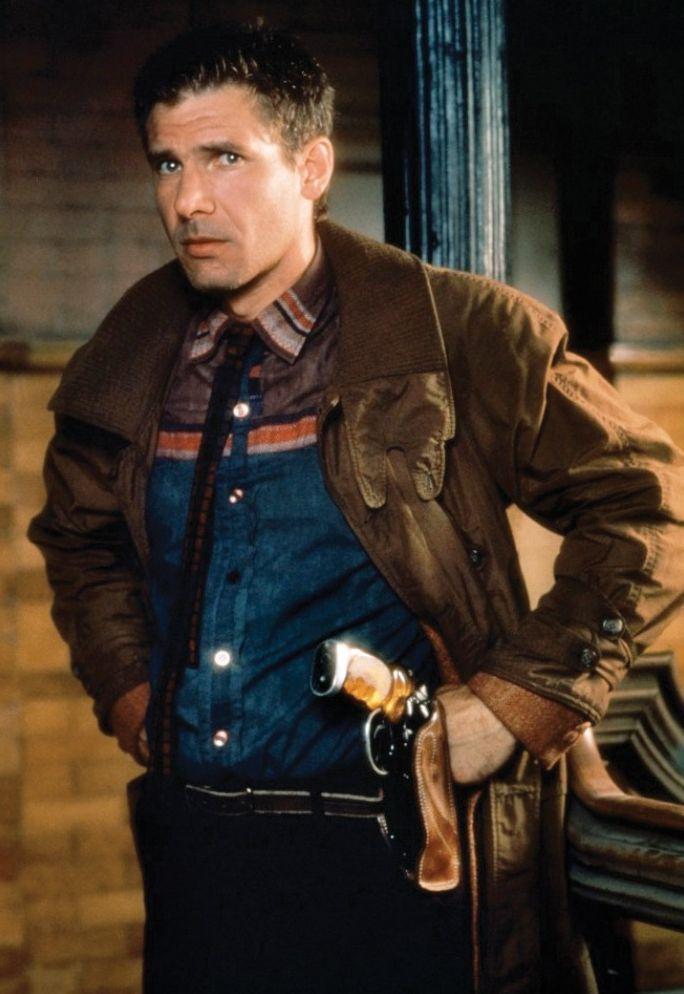 Harrison Ford as Rick Deckard in 'Blade Runner' (1982)