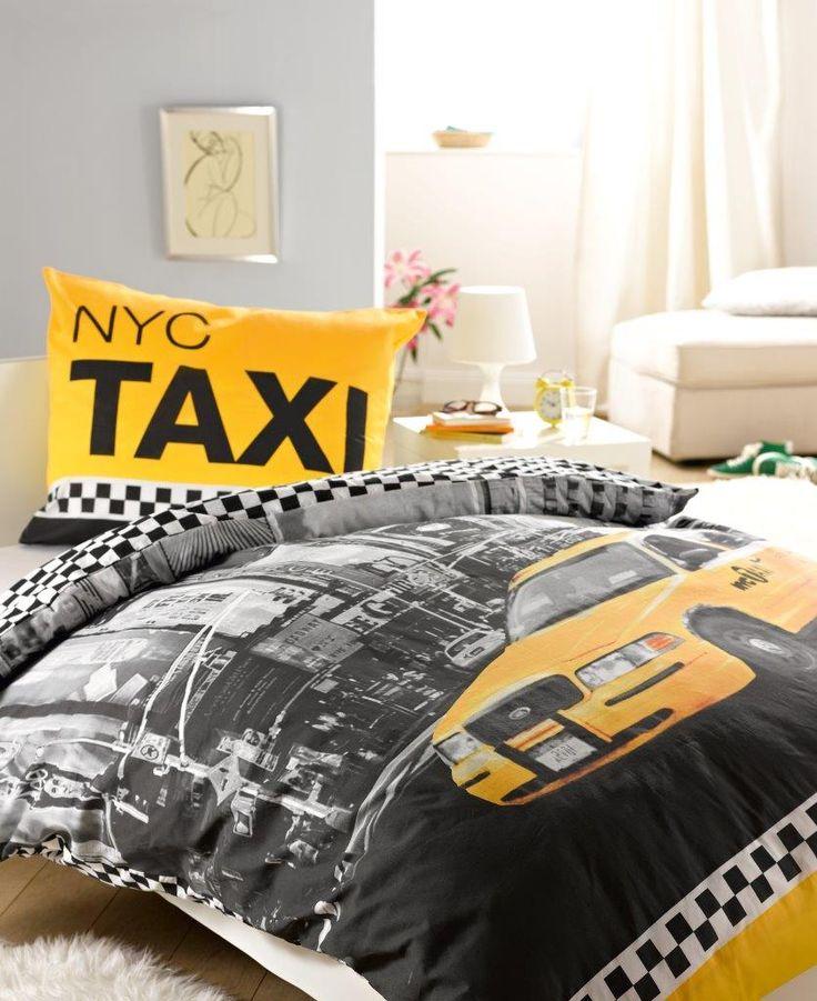 pościel młodzieżowa - nyc taxi