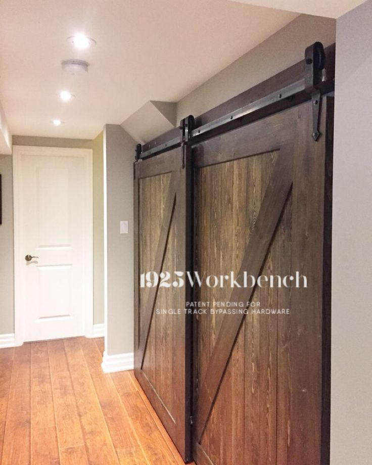 103 best images about 1925workbench custom doors and barn for Bypass barn doors