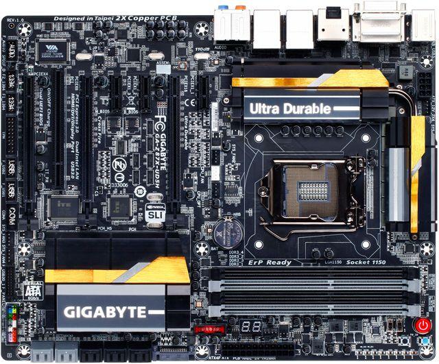 Matična ploča GIGABYTE INTEL GA-Z87X-UD5H ATX 4xDDR3 10xSATAIII 7xUSB 3.0 2xUSB 2.0 6xPCI Express 1xPCI 1xDVI 2xHDMI 1xDisplayPort Socket 1150