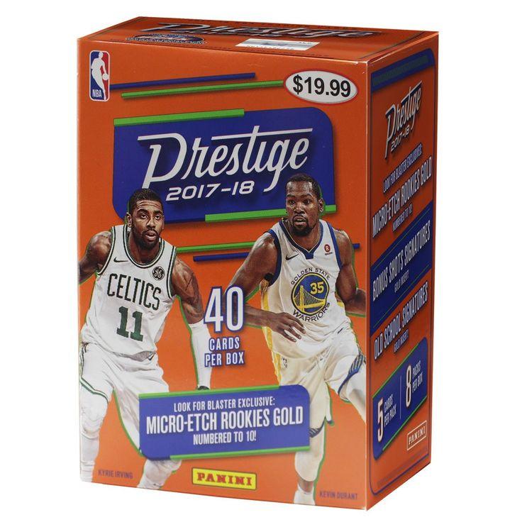 2018 nba basketball trading card prestige full box