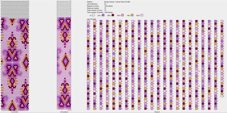 20 around bead crochet rope pattern