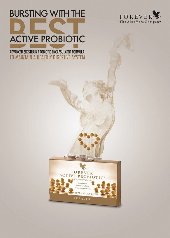 Active Probiotic is an incredible way to keep your digestive system working in tip top shape.