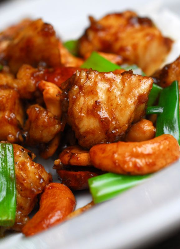 Scrumptious Cashew Chicken...this is easy and mouth watering!!
