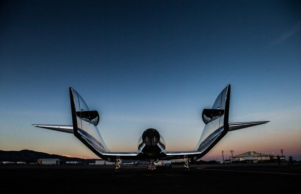 "Virgin Galactic: New Spaceship Named ""VSS UNITY"""