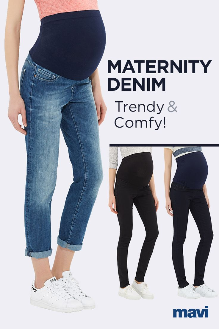 Stay on trend and in comfort with maternity denim by Mavi. Tailor-made for moms-to-be with a belly-covering elastic panel for coverage and comfort, and the premium stretch fabric that Mavi is known for. Expect amazing stretch and recovery that holds you in, as well as a form-enhancing skinny fit with a pair of skinny maternity pant by Mavi.