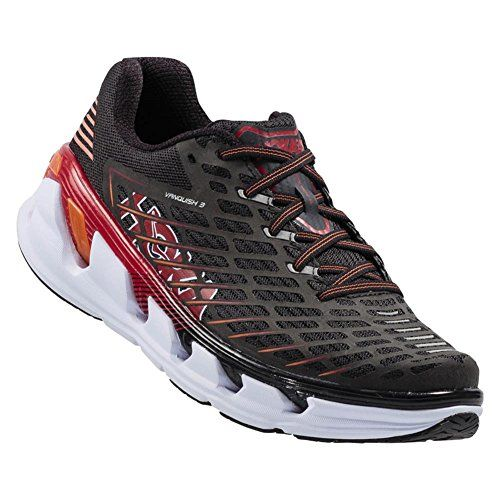 Hoka One One Men's Vanquish 3 Shoe - 10 - Black / Formula One