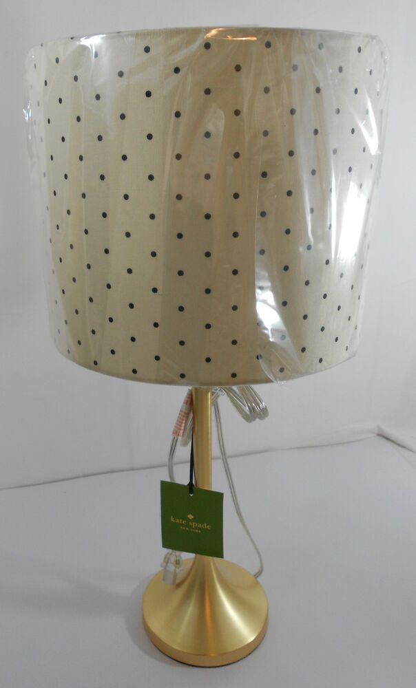 Kate Spade New York Black And White Stripe Table Lamp Home