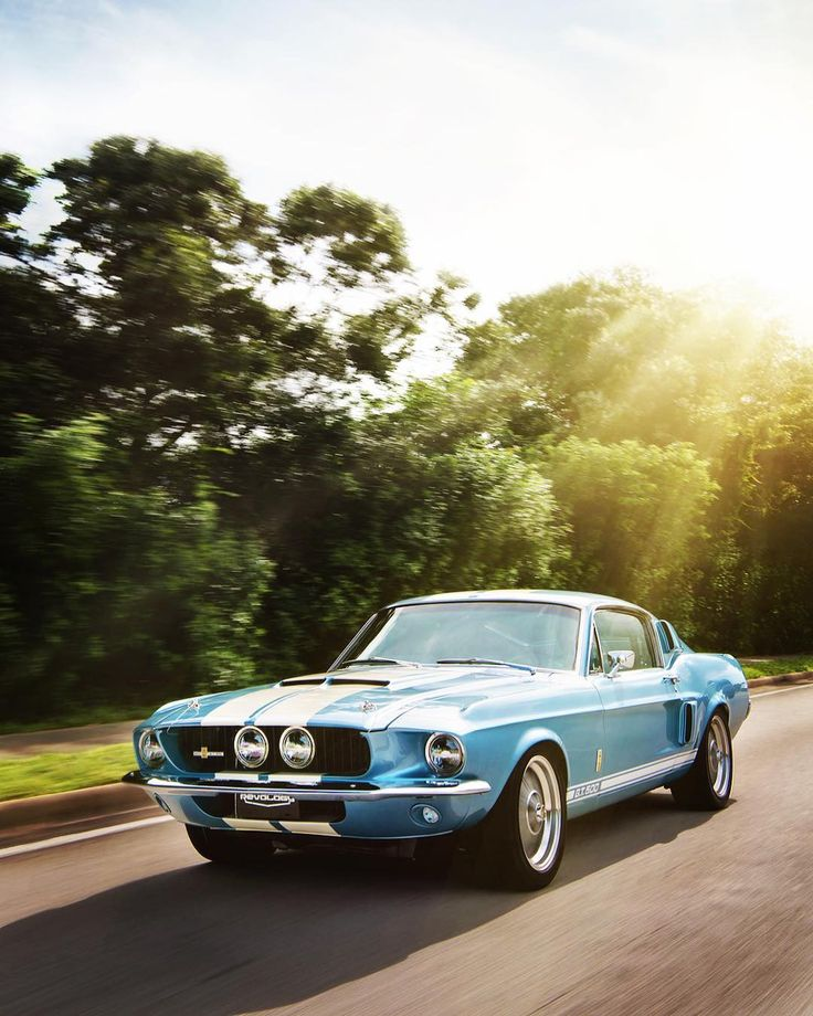 Afternoon ride with 1967 Mustang Shelby GT500 by Revology – www.bonvier.com #bon…