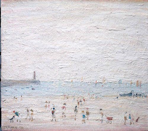 LS Lowry, Spittal Sands, Berwick, 1960
