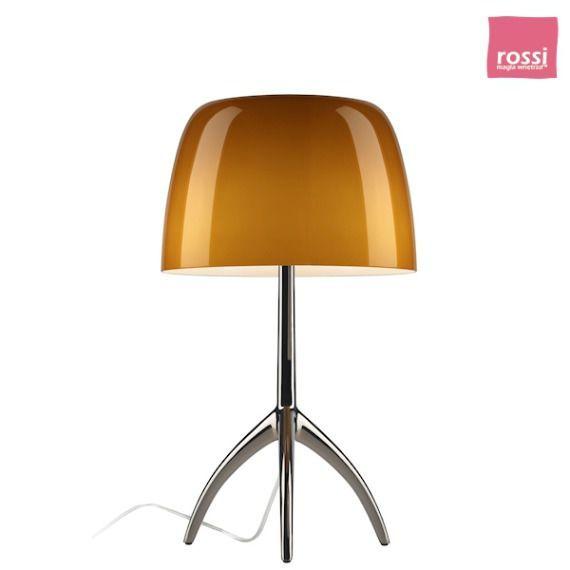 FOSCARINI Lumiere 05 lampa stojąca, kolor bursztynowy 026001 52