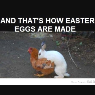 This was how Easter eggs were born :) LMFAO