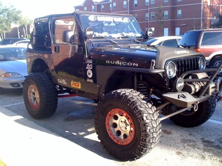 I want to see Jeeps that look like they could survive a