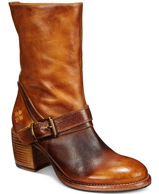 Patricia Nash Lombardy Buckle Mid Boots - Boots - Shoes - Macy's