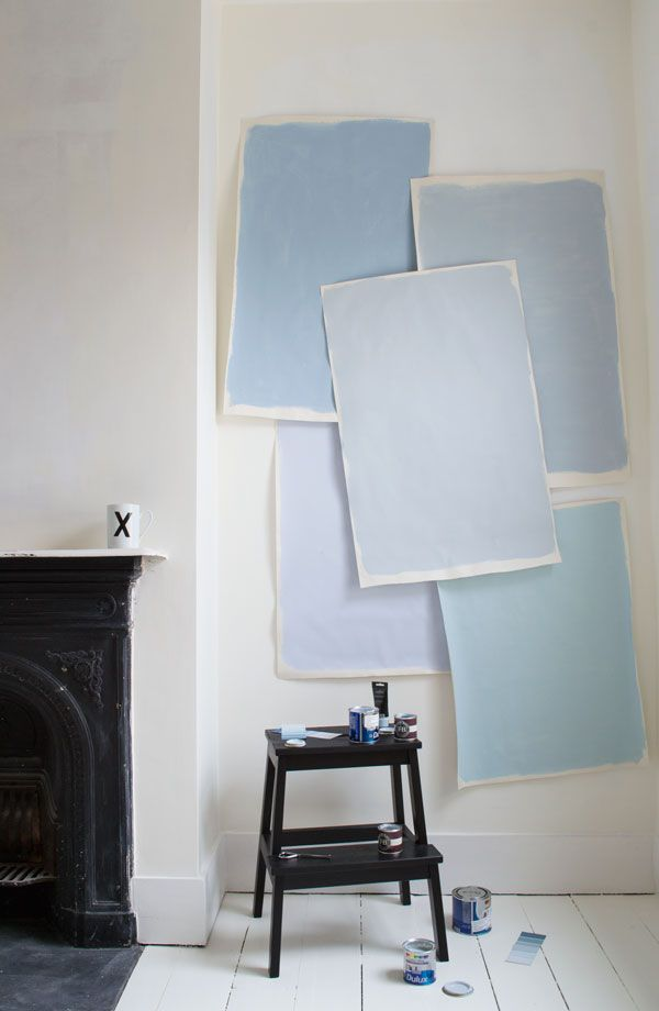 Choosing the perfect shade of grey-blue for our Victorian renovation | gray blue paint | Dulux | blue kids room | Sneak Peek Kids Room Update | When You Paint For Days