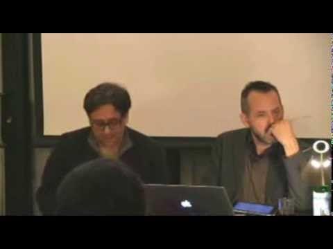 Gean Moreno: Escape Velocities Symposium at e-flux, Day 1, 11/13/13
