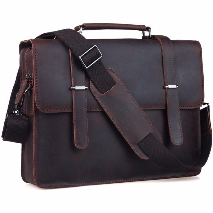 Genuine Leather Laptop Vintage Style //Price: $160.65 & FREE Shipping //     #amrshops #shopping