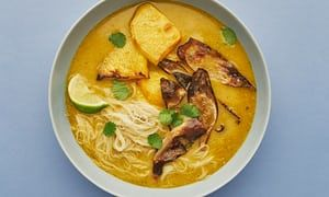 Meera Sodha's swede laksa noodle soup recpe | The New Vegan | Life and style | The Guardian
