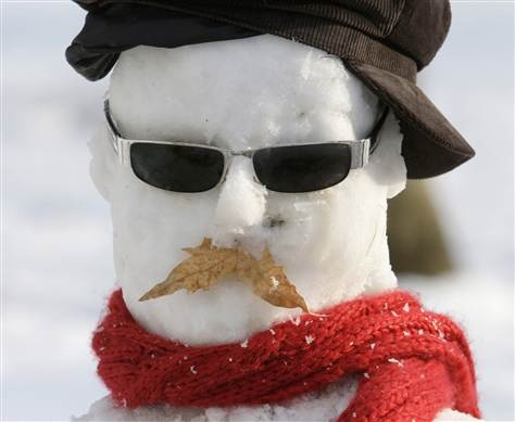This has to be one of my favorite snowmen...