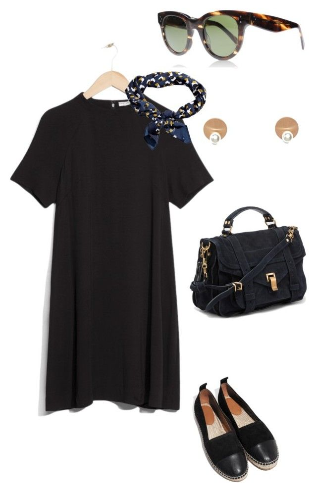 Untitled #187 by juliegodsknielsen on Polyvore featuring Proenza Schouler, DK and H&M