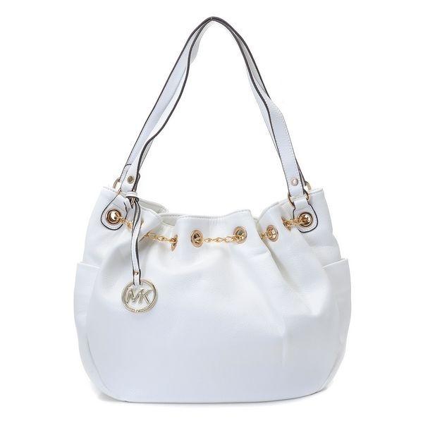 Michael Kors bags and Michael Kors handbags Michael Kors Jet Set Chain Ring  Tote White 110