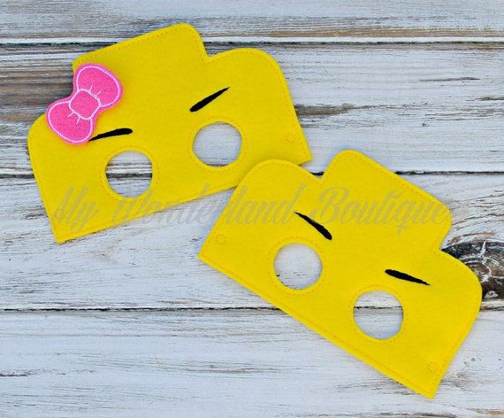 Lego mask Made with felt and elastic easy on and off These make perfect party favors or just for fun ..