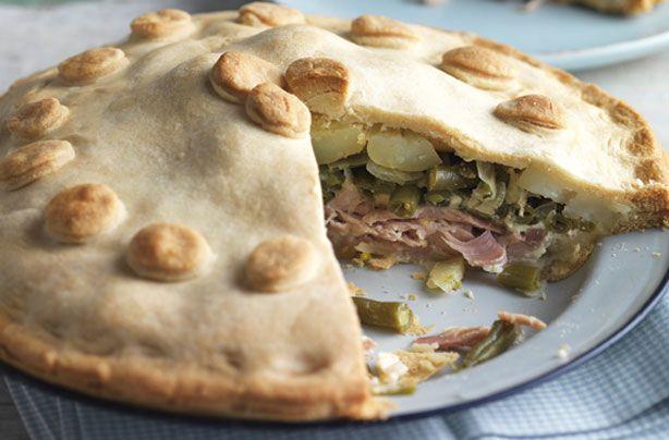 Ham, bean and potato pie recipe - goodtoknow