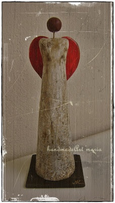 handmade art: A LOVELY CLAY FIGURE
