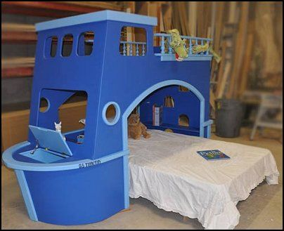 Ship Ahoy bed for children