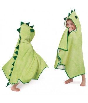 Cuddleroar Toddler Towel | Fun Children's Hooded Bath Towels | Little Delivery