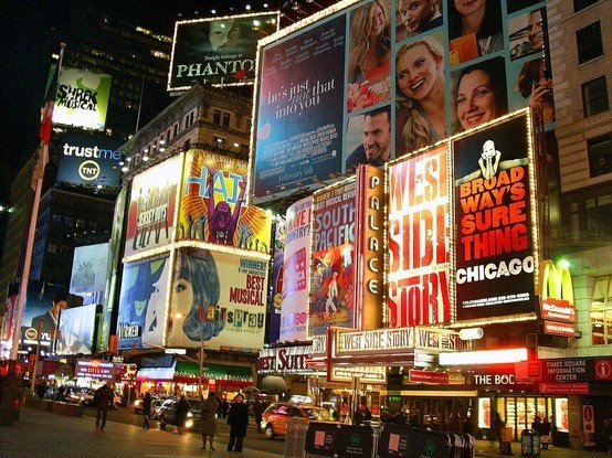 NYC, I give you fair warning, up there in lights I'll be! ~Annie