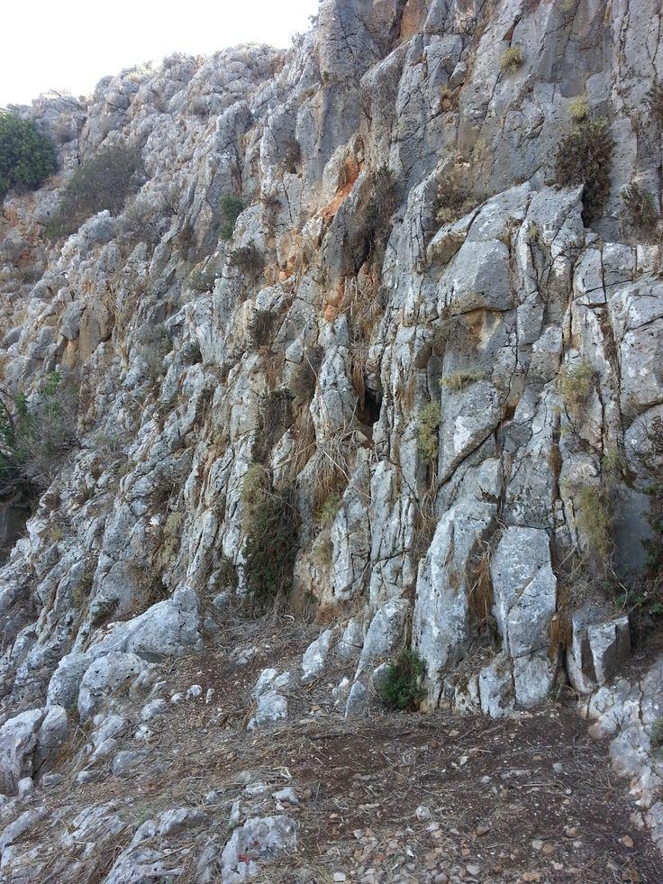 Caves in Mount Carmel, Israel