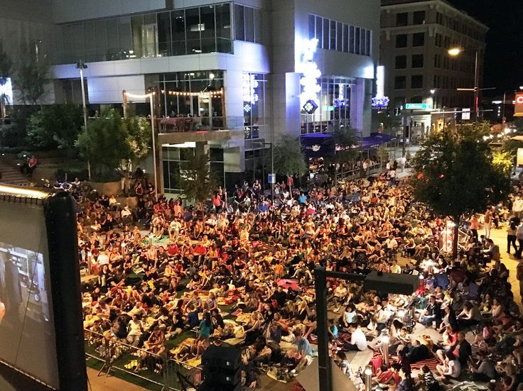 The 2nd Friday of every month, join City Lights Movie Nights at CityScape Phoenix for FREE outdoor movies.