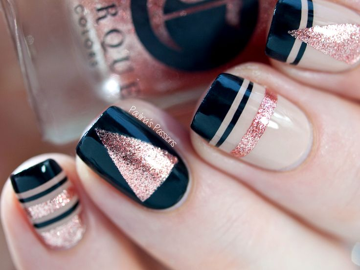 25 beautiful nail striping tape ideas on pinterest striping 40 great nail art ideas new year nails paulinas passions tape nail artnail striping prinsesfo Choice Image