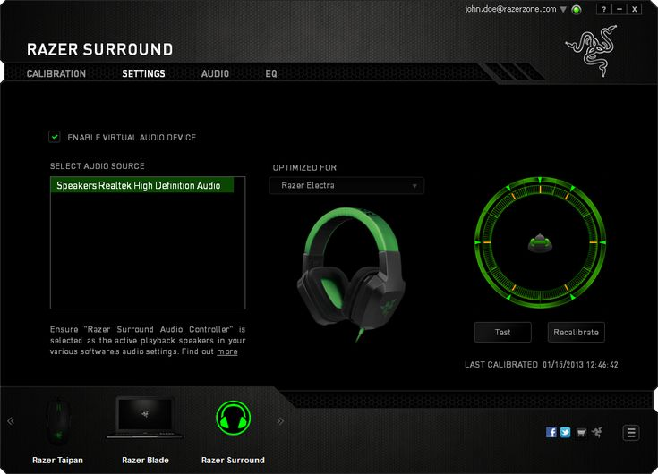 Razer Surround Pro Crack Activation Key Free Download