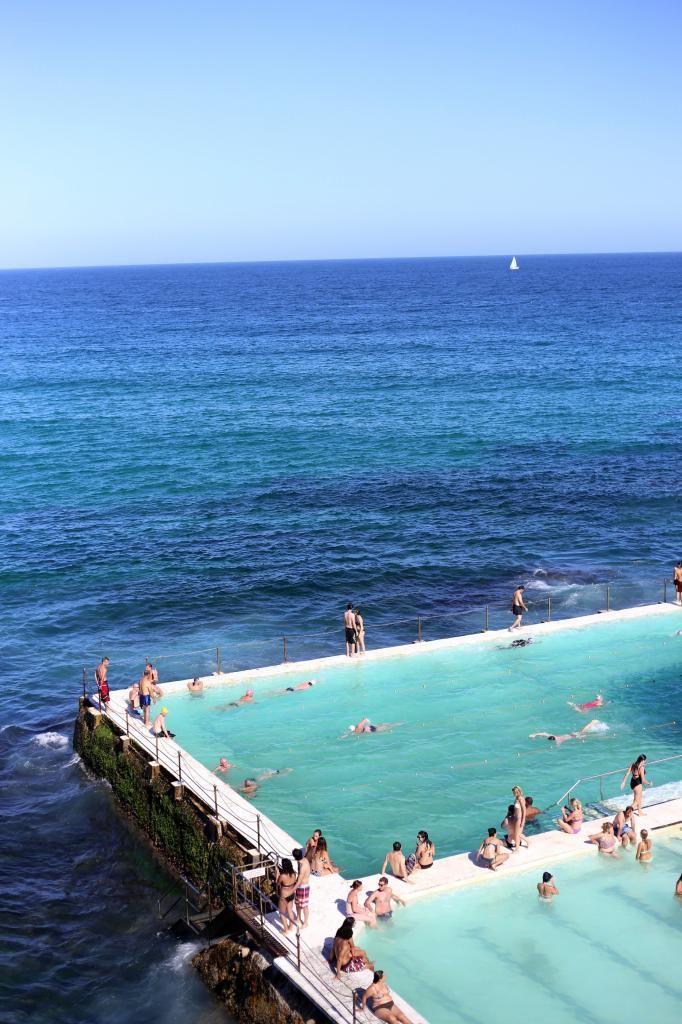 Aguas increíbles para nadar con aletas de tobillo  Source: Lolita Says So