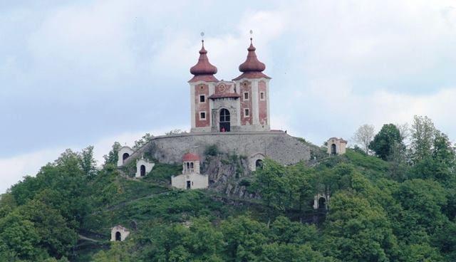 Banská štiavnica - Starý zámok a kalvária