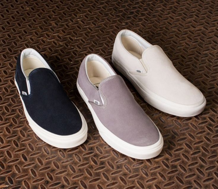 Vans Slip-On Vintage Pack (Jesien 2015) @luckylittlegal