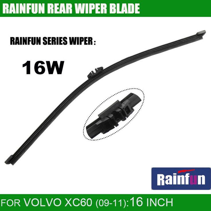 RAINFUN dedicated car rear wiper blade for VOLVO XC60 T6(08-10), 16 Inch rear wiper for VOLVO XC60 T6 from 2008 to 2010 #Affiliate