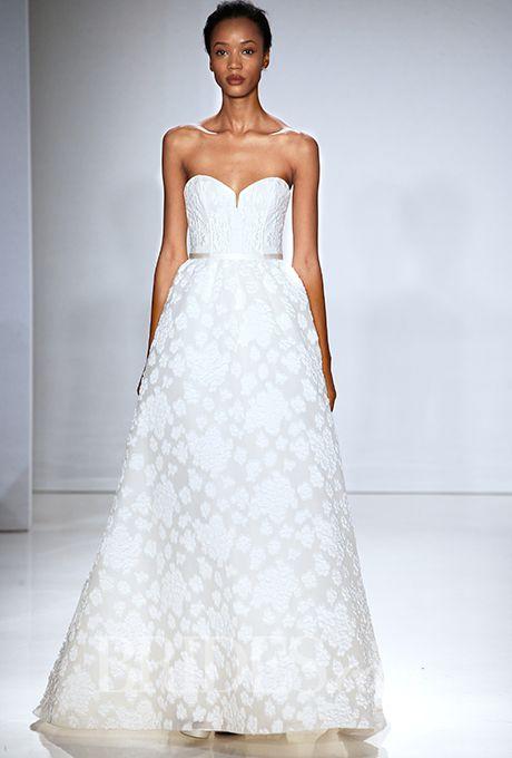 Brides.com: Flower Power: Wedding Dresses with Floral Details