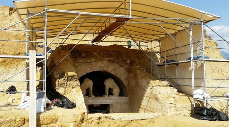 Αμφίπολη: Βίντεο αποκαλύπτει το μέγεθος και το μεγαλείο των ανασκαφών