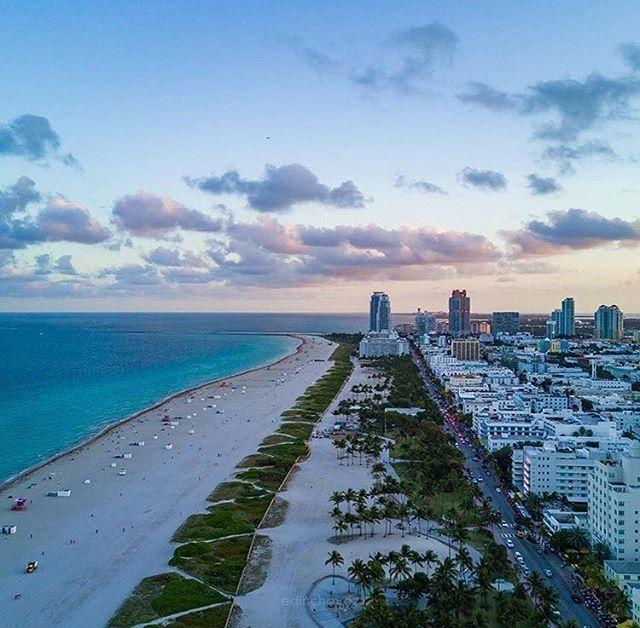 Miami Beach Florida by Edin Chavez