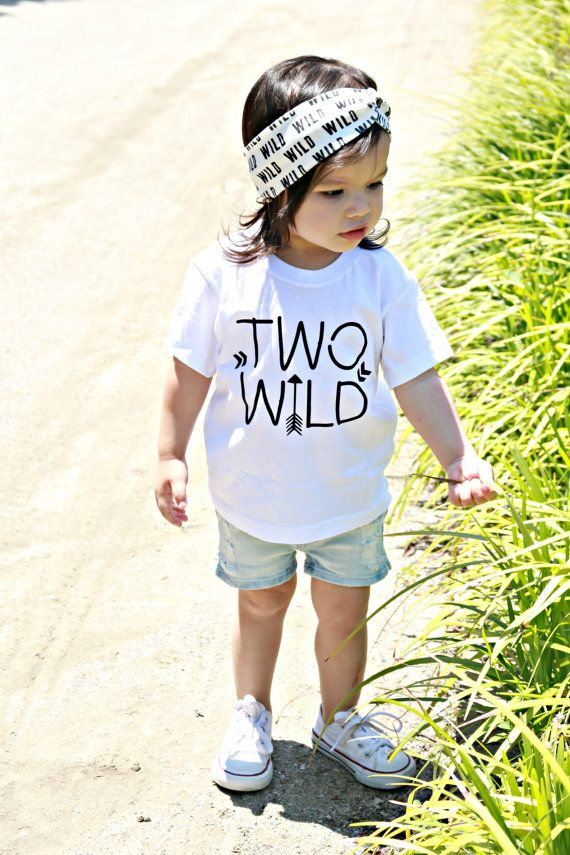 second birthday shirt 2nd bday shirt two wild by Our5loves on Etsy